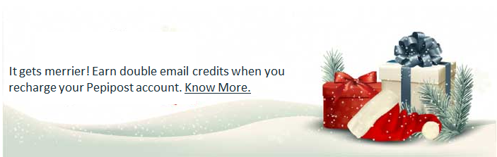 holiday season email footer