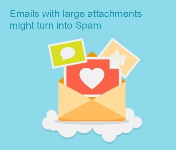 email best practices - do not send large attachment emails