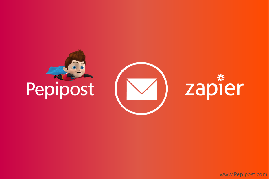 pepipost and zapier integration