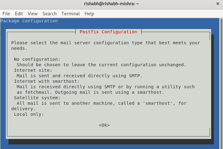 postfix-configuration-sendmail-external-server