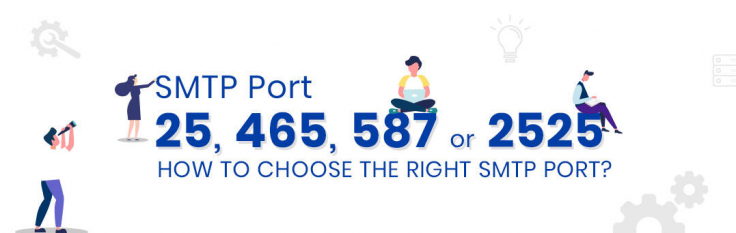 SMTP Port 25, 465, 587, 2525 - How to choose the right SMTP